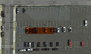 Synergis Student Parking