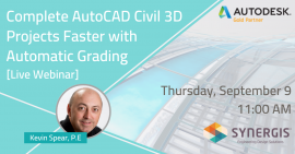 Complete Autodesk Civil 3D Projects Faster with Automatic Grading